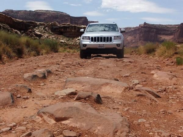 Piste 4x4 dans la région de Moab