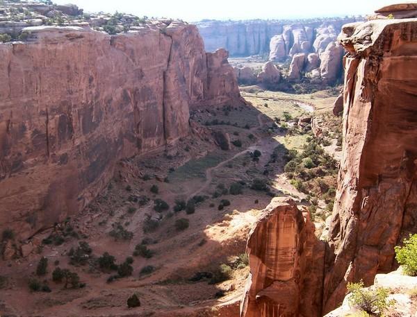 Gemini Bridges Moab Utah