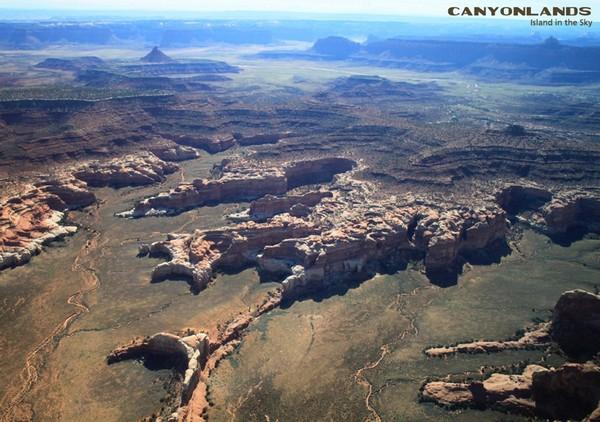Survol en avion Island in the Sky Utah