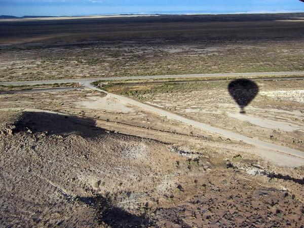 Survol en montgolfière de la région de Moab