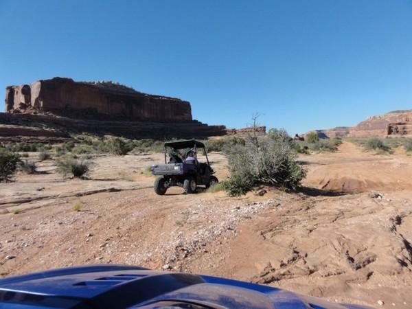 Balade en rhino région de Moab