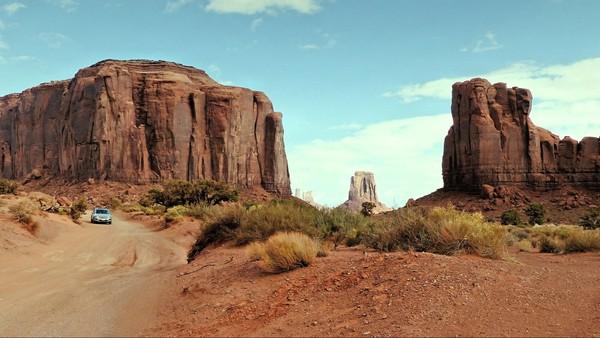 La Valley Drive à Monument Valley