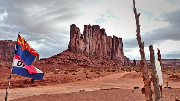 Camel Butte Monument Valley