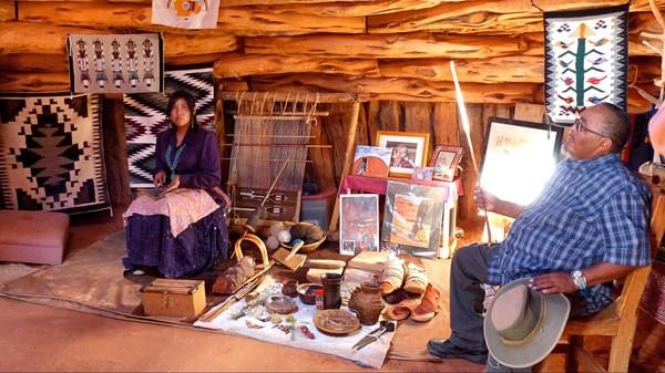 Artisanat Navajo Monument Valley