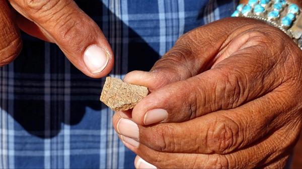 Pièce de poterie indienne Monument Valley