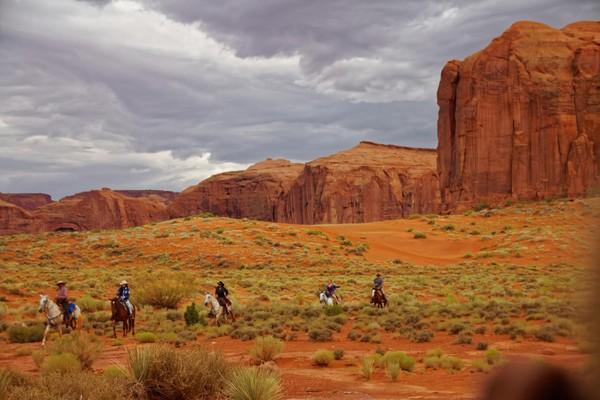 Randonnée à cheval Monument Valley