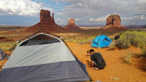 The View Campground Monument Valley