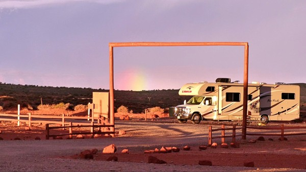The View Campground, côté RV Park Monument Valley