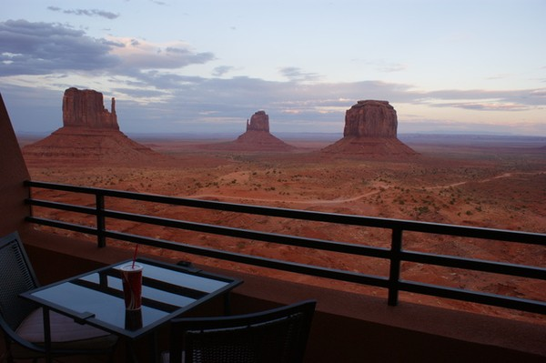 Balcon chambre Star View The View Monument Valley