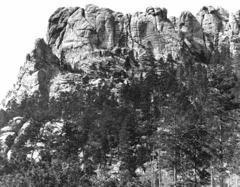 Six Grandfathers 1905 Mount Rushmore