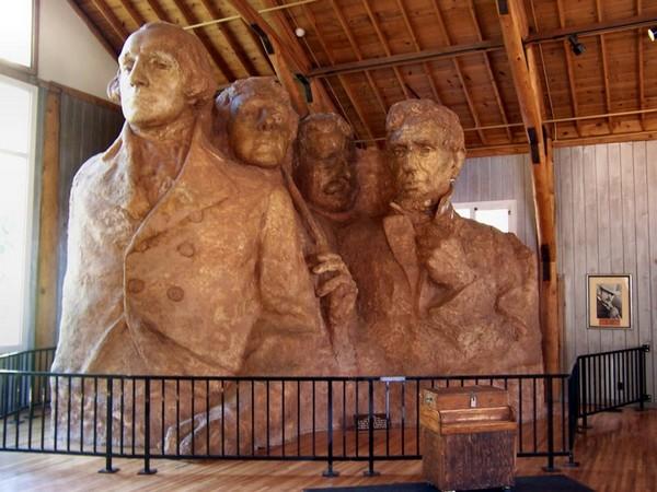 Sculptor's Studio Mont Rushmore
