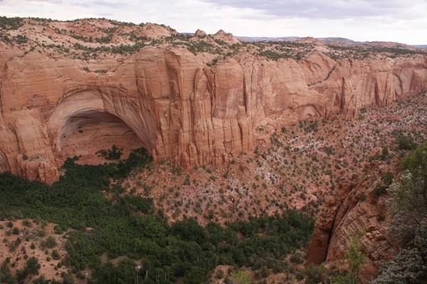 Village perché sur la falaise Navajo National Monument