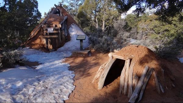 Évolution du hogan, habitation traditionnelle Navajo