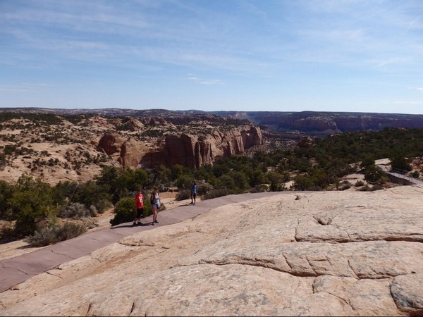 Betatakin Canyon, Sandal Trail