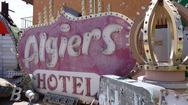 Enseigne du Algiers Hotel Las Vegas
