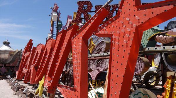 Enseigne Stardust Neon Museum Las Vegas
