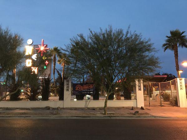 Zone d'accueil Brilliant Show Neon Museum Las Vegas