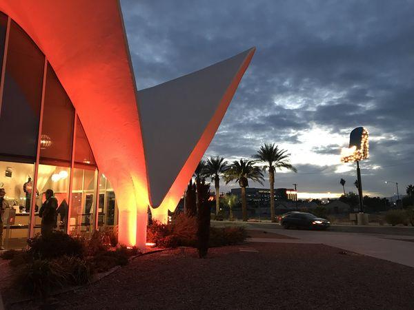 Visitor Center Neon Museum Las Vegas