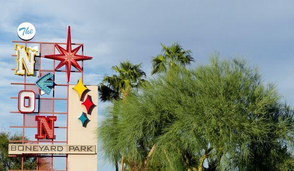 Enseigne du Neon Museum Las Vegas