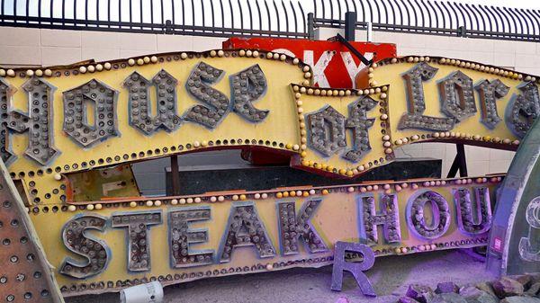 House of Lod Steak House Neon Museum Las Vegas