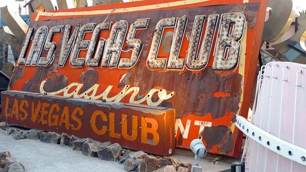Enseigne Las Vegas Club Neon Museum Las Vegas