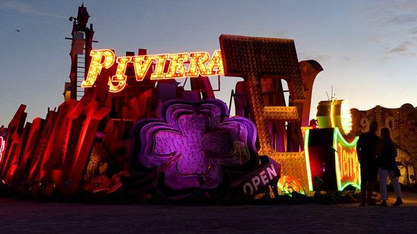 Enseignes allumées Neon Museum Las Vegas