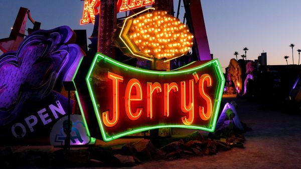 Enseigne Jerry's Neon Museum Las Vegas