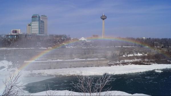 Arc en ciel aux Chutes du Niagara