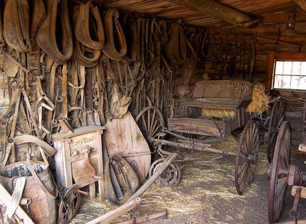 Chez le forgeron Old Trail Town