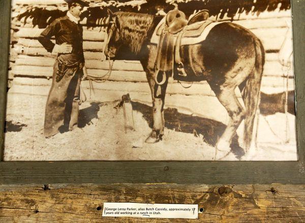 Rare photo de Butch Cassidy encore adolescent