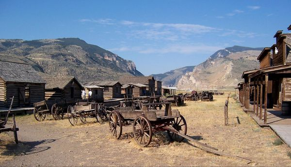 Old Trail Town Wyoming