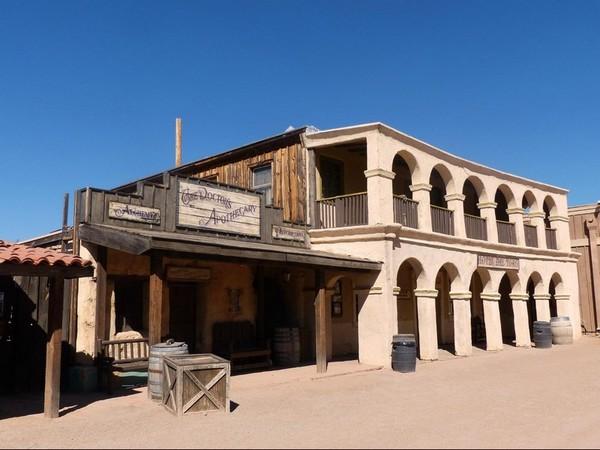 Banque du Grand McLintock Old Tucson Studios