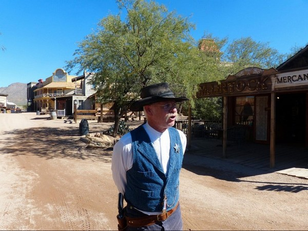 Visite guidée Old Tucson Studios