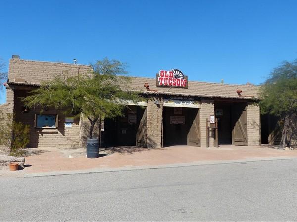 Entrée Old Tucson Studios