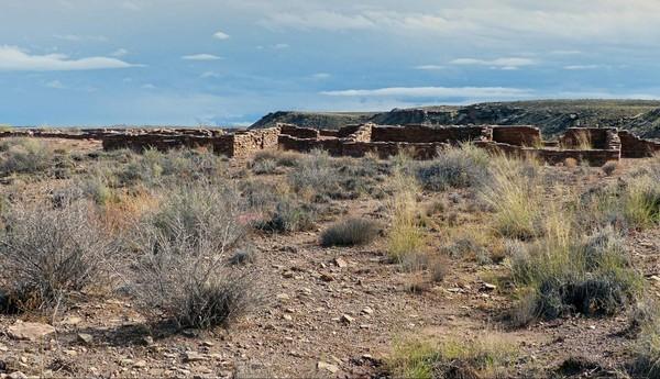 Puerco Pueblo Petrified Forest National Park Arizona