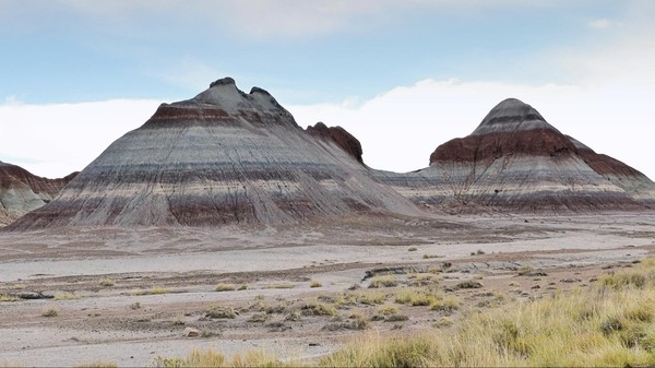 The Tepees Petrified Forest National Park Arizona