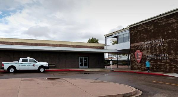 Painted Desert Visitor Center Arizona
