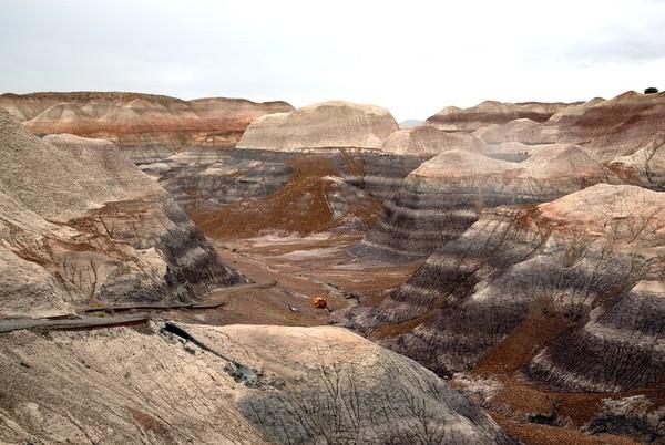 Blue Mesa Trail Petrified Forest National Park Arizona
