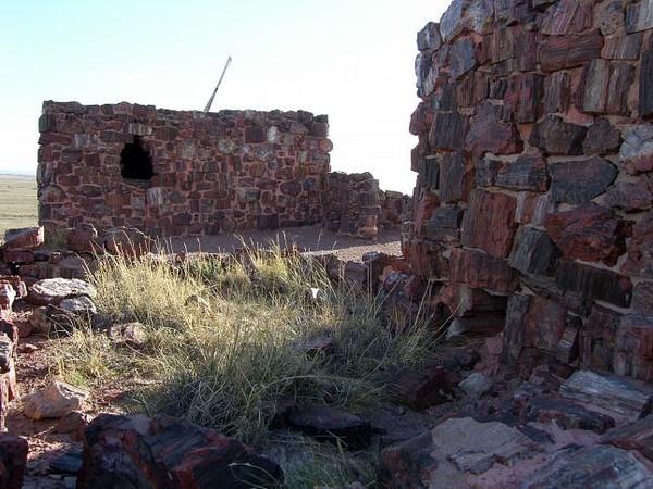 Agate House Petrified Forest National Park Arizona