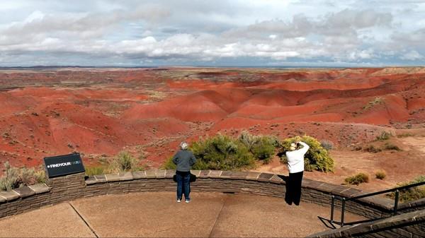 Tiponi Point Painted Desert Arizona