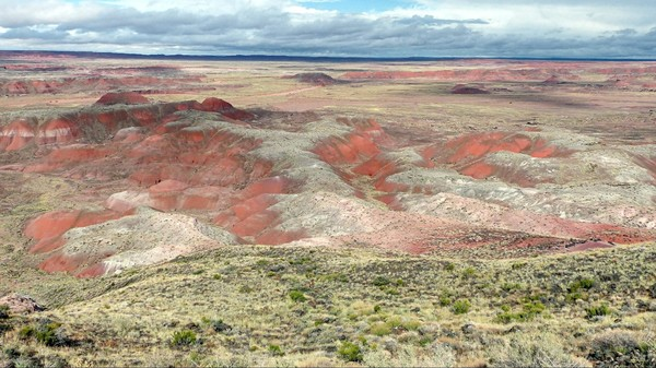 Chinde Point Painted Desert Arizona