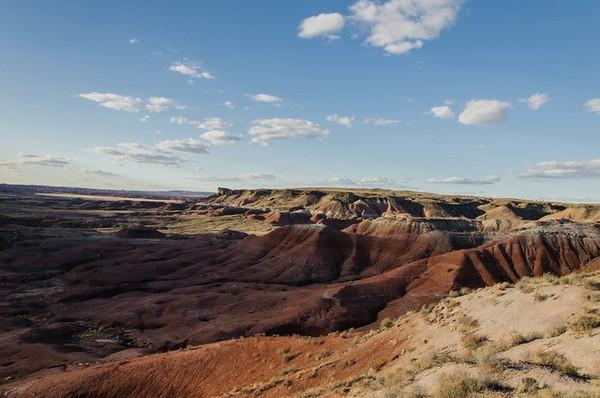 Whipple Point Painted Desert Arizona