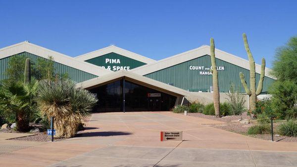 Entrée Pima Air & Space Museum