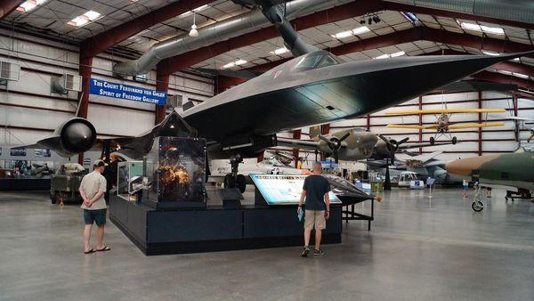 Lockheed SR-71 Blackbird Pima Air Space Museum