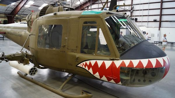Bell UH-1M Iroquois Pima Air Space Museum