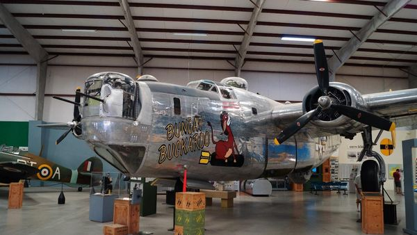Consolidated B-24 Liberator Pima Air Space Museum Tucson