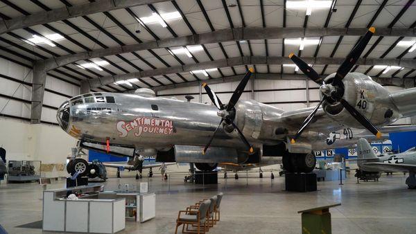 Boeing B-29 Superfortress Pima Air Space Museum Tucson