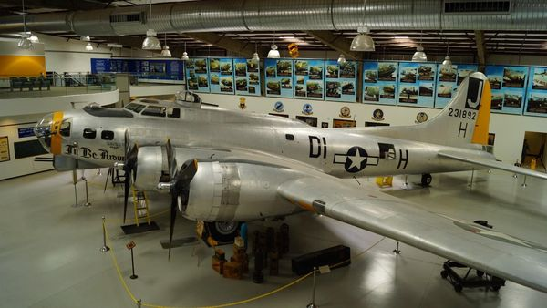Boeing B-17 Flying Fortress Pima Air Space Museum Tucson