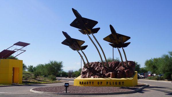 Entrée Pima Air Space Museum Tucson
