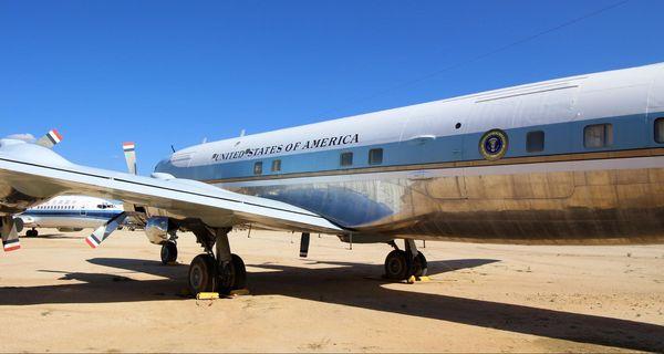 L'appareil Air Force One de JF Kennedy